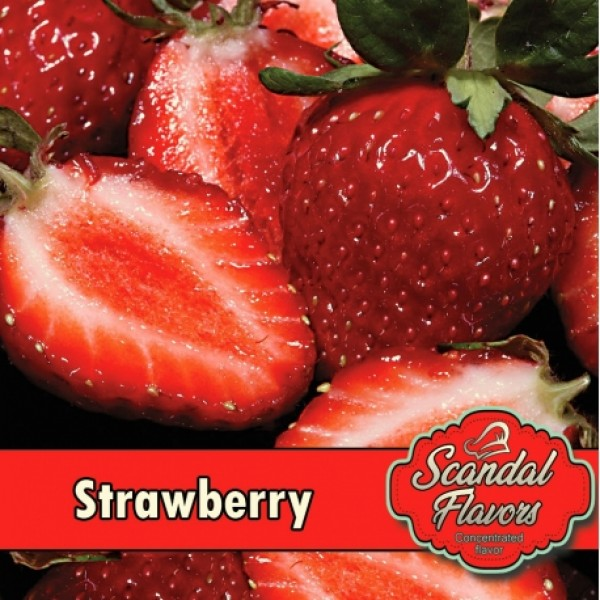 Αρωμα Diy Strawberry Scandal Flavors 10ml