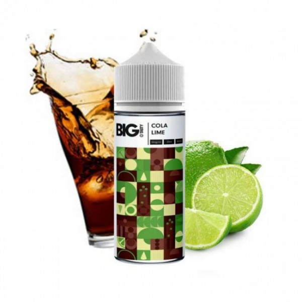 Cola with Lime Big Tasty 120ml