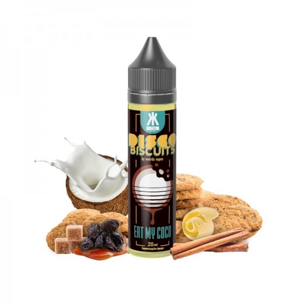 Eat My Coco Disco Biscuits 60ml