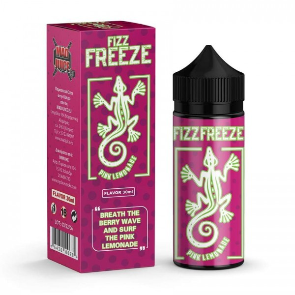 Pink Lemonade Mad Juice 120ml